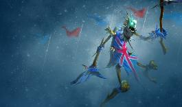 Union Jack Fiddlesticks